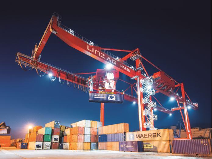 Linz AG Hafen hat im Jahr 2019 leicht zugelegt