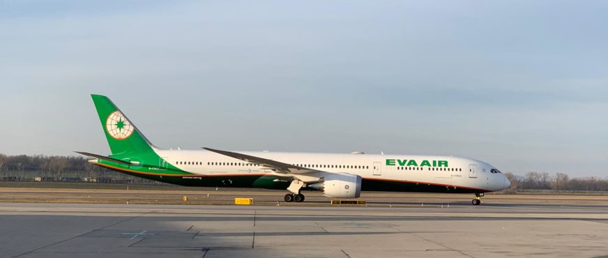 """Eva Air: Premiere für den B787-10 """"Dreamliner"""" auf der Wien-Route"""