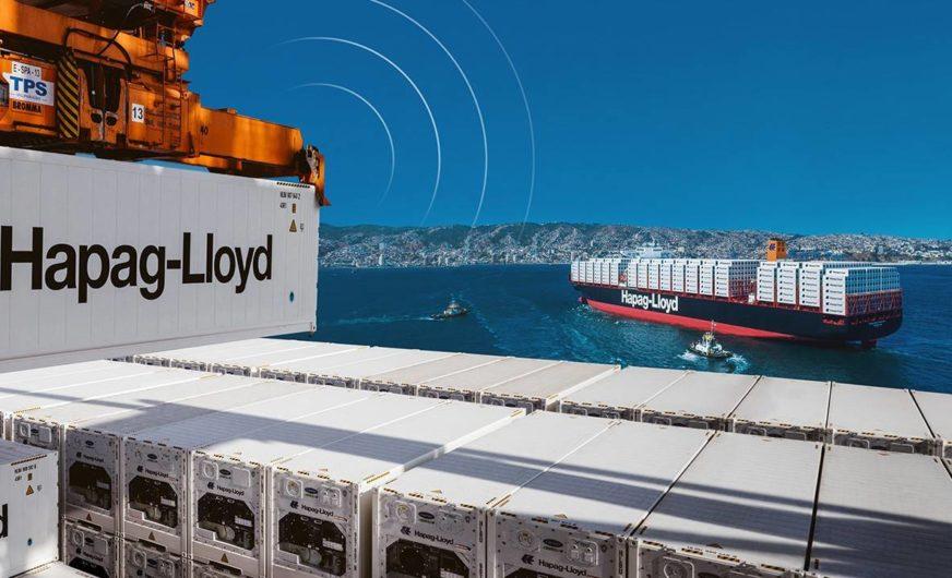 Erste Kühlcontainer mit Fernüberwachung bei der Reederei Hapag-Lloyd