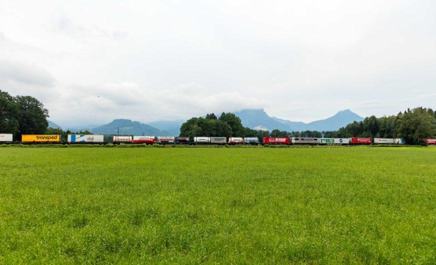 Kombiverkehr: Neue Zugfrequenz auf der Brennerroute