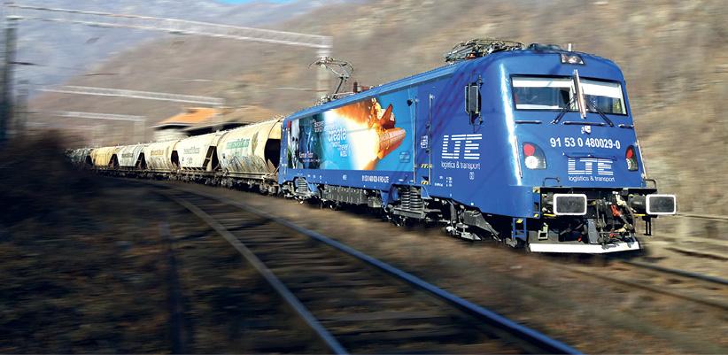 """""""LTE-group drängt auf den  Ausbau der Schieneninfrastruktur"""