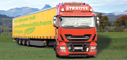 Was die Johann Strauss GmbH zum Einsatz  von zwei LNG-Trucks bewegt
