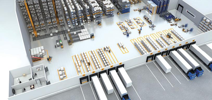 Hohe Ansprüche an die Logistik  bei Jungheinrich Austria