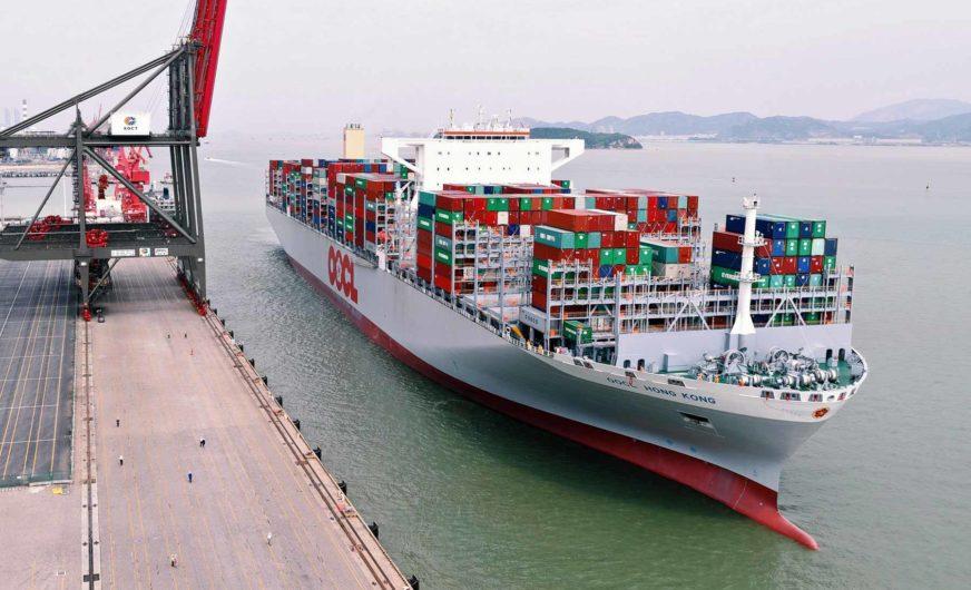 OOCL bestellt fünf neue 23.000 TEU-Containerschiffe