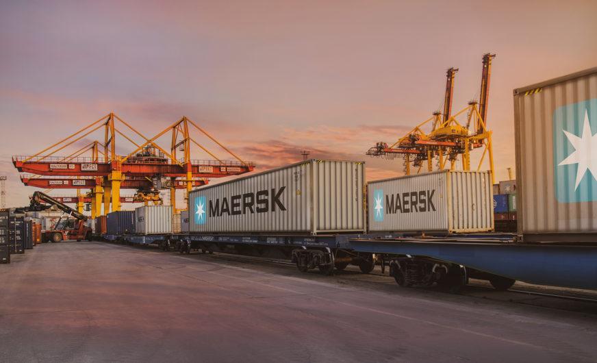 Maersk startet Interkontinentalzug von Europa nach Asien