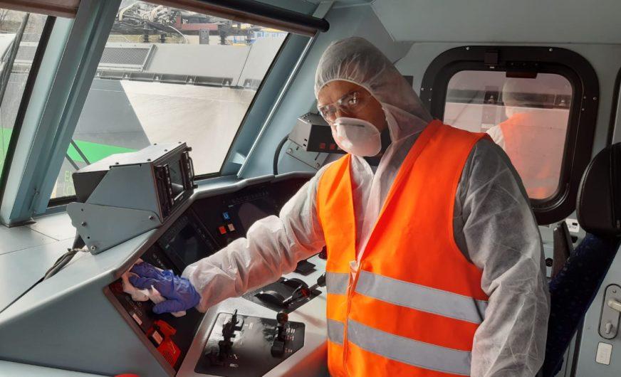 Saubere Loks bei EccoRail, LTE group, WLC, RTB Cargo Austria und  TX Logistik