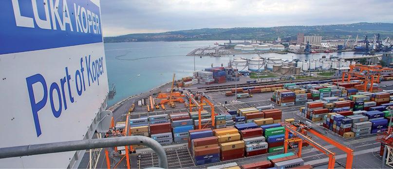 Hafen Koper: Gute Performance  im Österreich-Transit