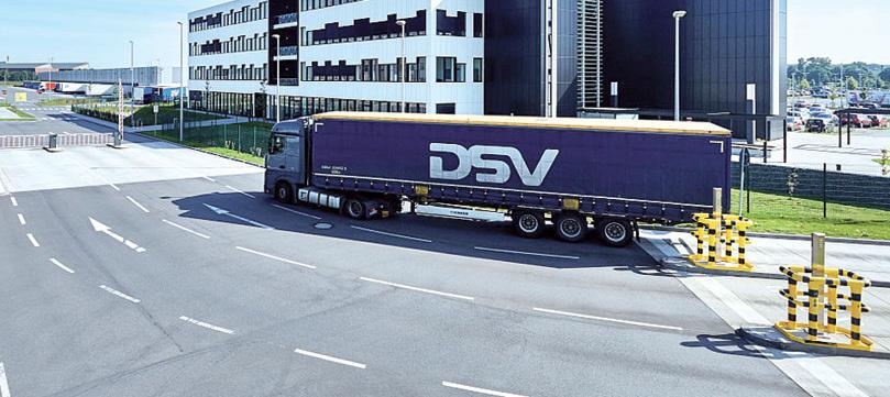 DSV Österreich Spedition  gewinnt immer mehr Profil