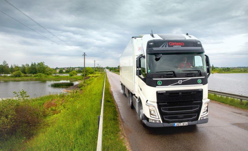 Trotz Corona-Krise kein Stillstand bei Girteka Logistics