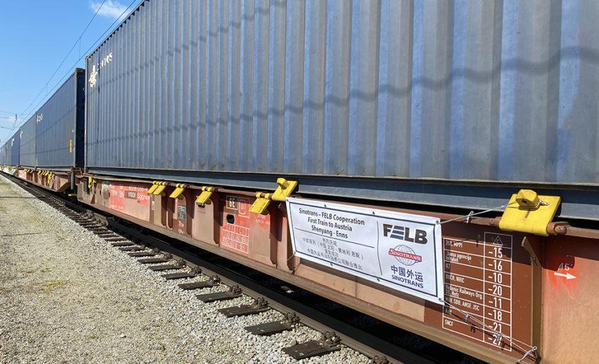 RZD Logistics: Erster Bahnservice von Shenyang nach Österreich