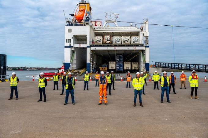 Tilbury2 Ro-Ro Terminal wird kommende Woche eröffnet