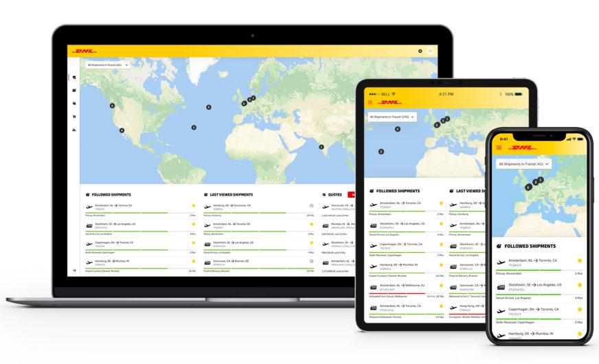 DHL Global Forwarding, Freight startet digitale Logistik aus einer Hand