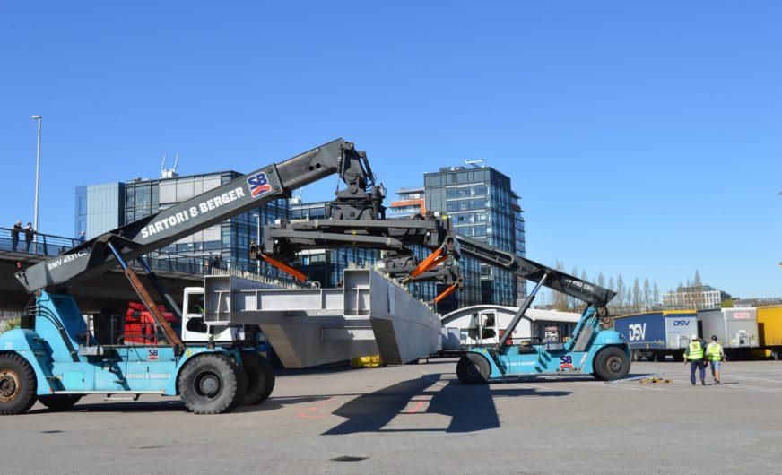 Brückentransport Rumänien – Norwegen unter österreichischer Regie