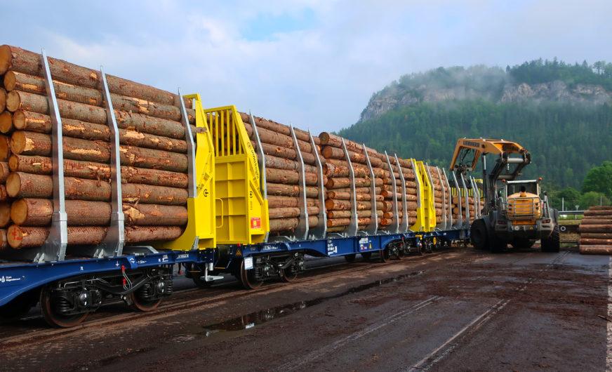 Innofreight optimiert Bahnlogistik von Mayr Melnhof Holz