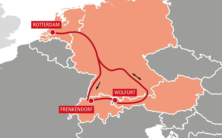 RCG integriert die Schweiz in ihr intermodales Netzwerk