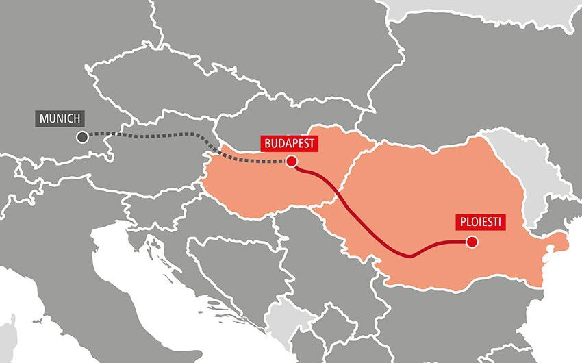 RCG startet intermodale Achse Ploiesti – Budapest – München