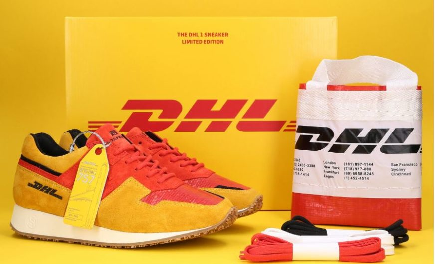 50 Jahre DHL Express: Zum Jubiläum ein von Bryan Adams signierter Sneaker