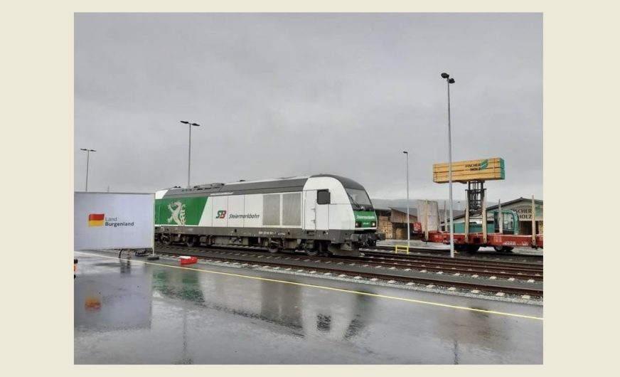 StB TL hofft auf mehr Bahnlogistik im Burgenland