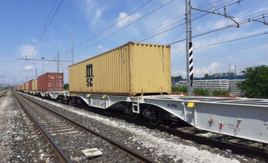 VTG Rail Europe: Moderne Containertragwagen für Medway Italia