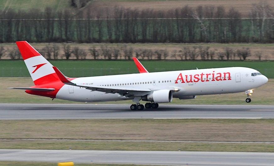 Austrian Airlines fliegt ab Juli wieder Langstrecke