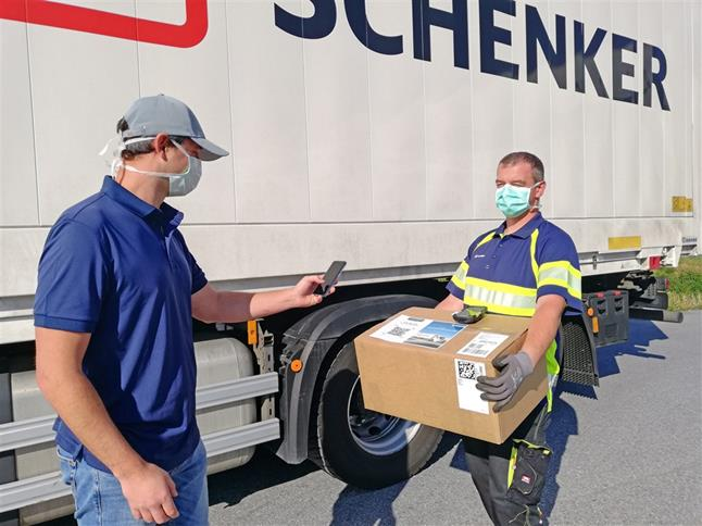 "Logistiker DB Schenker: IT-Lösung für den kontaktlosen ""Proof of Delivery"""