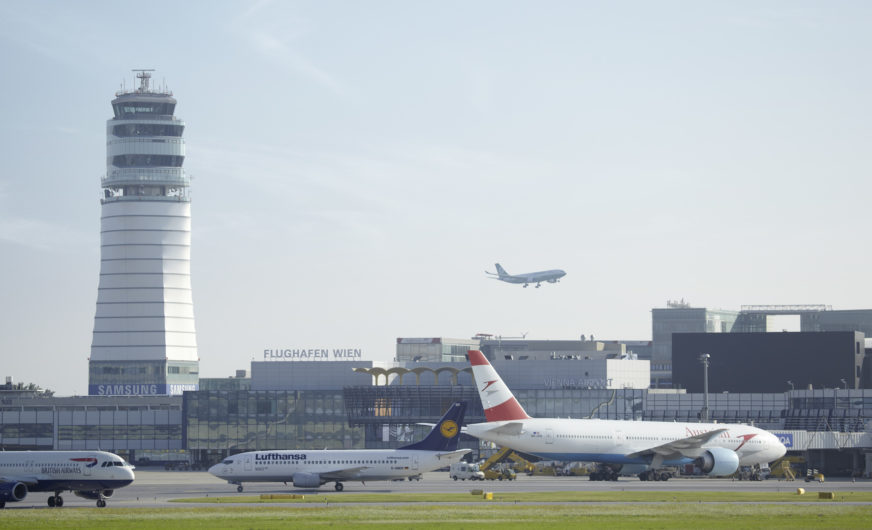 Comeback der Luftfahrt am Vienna International Airport
