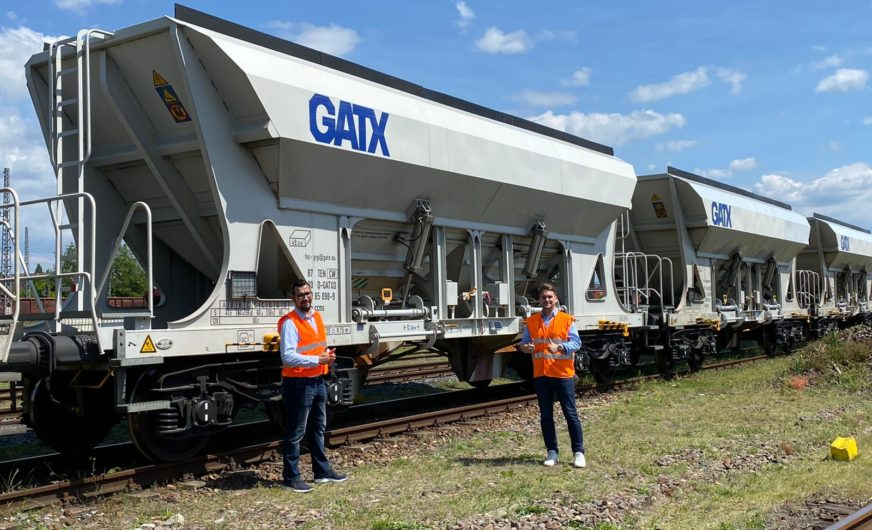 FACCNS-Güterwagen von GATX für Rail Cargo Logistics Deutschland