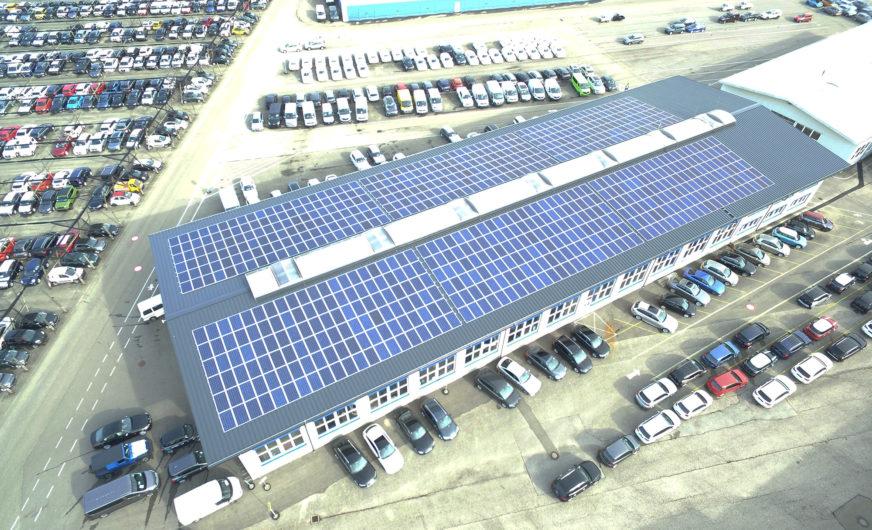 Lagermax Gruppe nutzt verstärkt saubere Energie