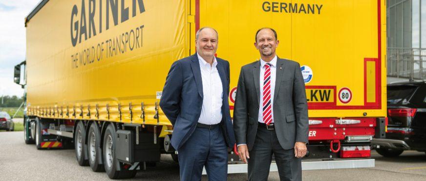 Gartner KG bestellt Rekordanzahl an Lang-Sattelanhängern
