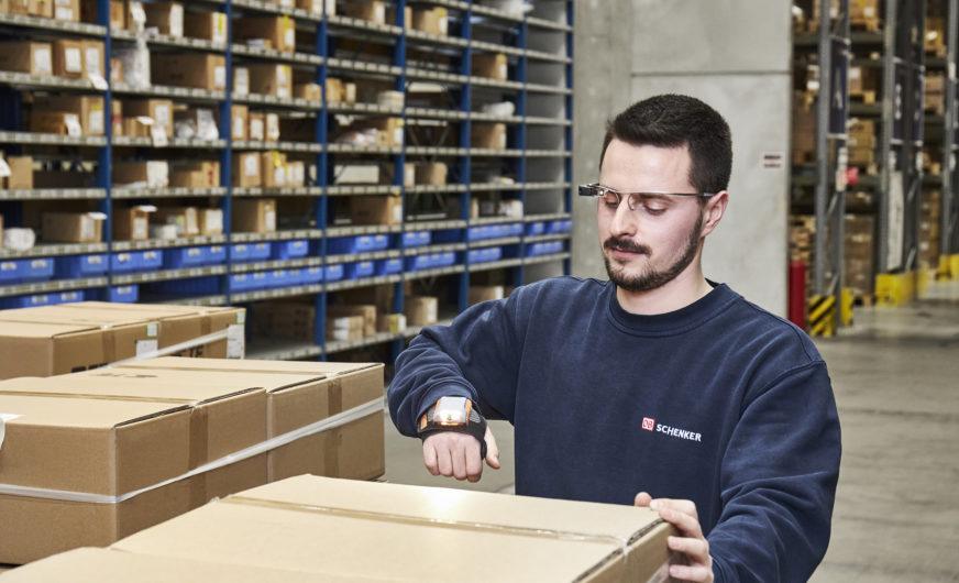 DB Schenker: Smart-Picking-Brille für mehr Effizienz in der Lagerlogistik