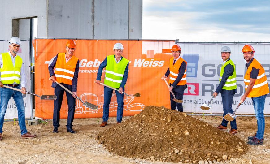 Gebrüder Weiss: Spatenstich für neues Logistikzentrum in Kalsdorf