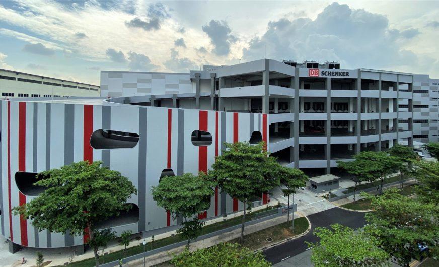 101 Mio. Euro teures Leuchtturm-Projekt von DB Schenker in Singapur