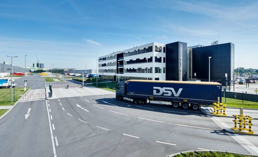 DSV liegt im ersten Halbjahr über den Erwartungen