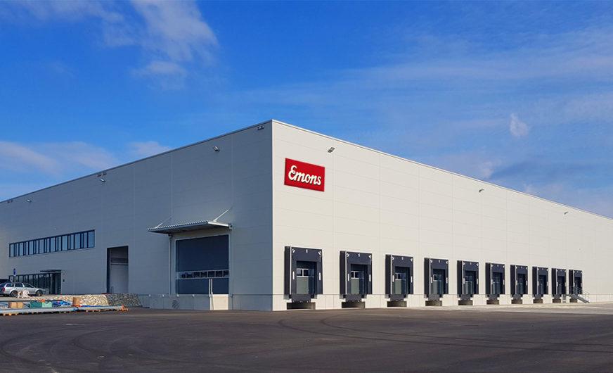 Emons Spedice s.r.o. bezieht neue Logistikanlage in Brünn