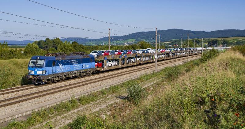 ČD Cargo: Jetzt Autozüge durch Österreich nach Deutschland