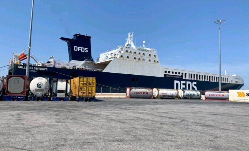 DFDS startet eigene Patras-Triest Verbindung
