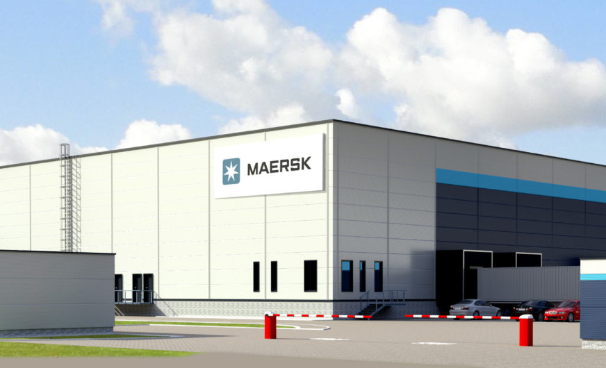 Maersk realisiert 15.000 m² großes Pharmalager in Zentraleuropa