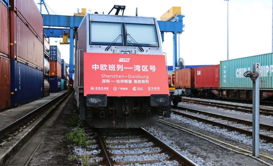 Logistiker Sinotrans startet Bahnservice von Shenzhen nach Duisburg