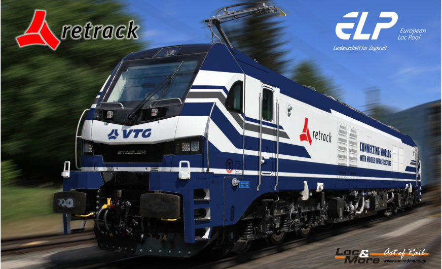 VTG-Tochter Retrack least erstmals EuroDual-Lokomotiven