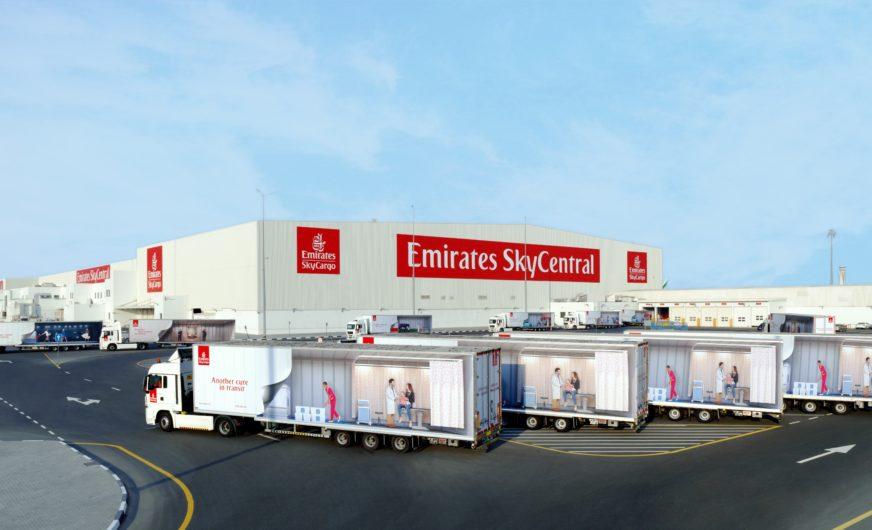 Emirates SkyCargo bekommt Impfstoff-Hub mit GDP-Konformität