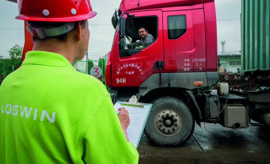 Logwin: Per Lkw von China nach Europa