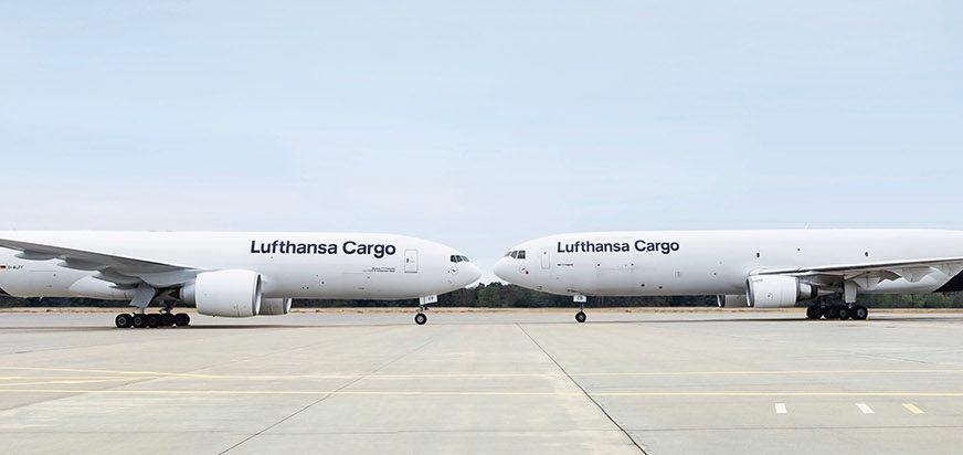 Lufthansa Cargo sichert weiterhin internationale Versorgungswege