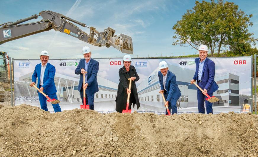 Spatenstich für neues Lokomotiven-Servicezentrum im Großraum Wien