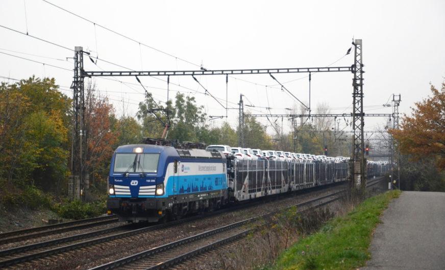 ČD Group nutzt Vectron-Loks jetzt für Güterzüge
