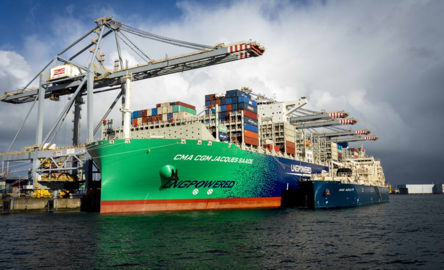 Einsatz im Hafen Rotterdam für größtes LNG-Bunkerschiff der Welt