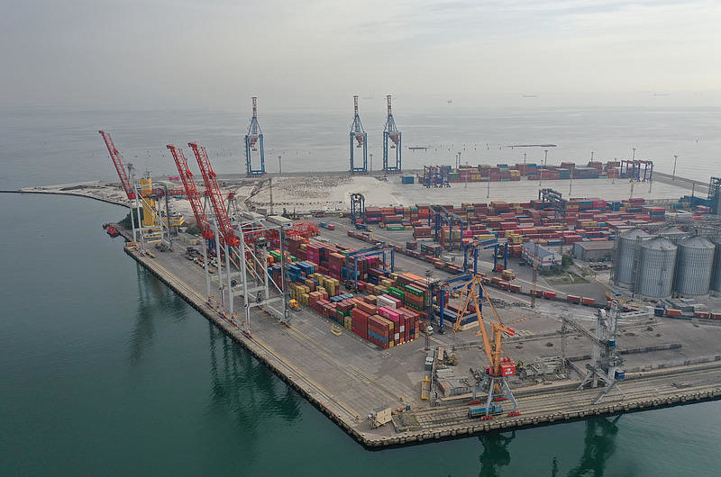 170 Mio. Euro Großinvestition am HHLA Container Terminal Odessa
