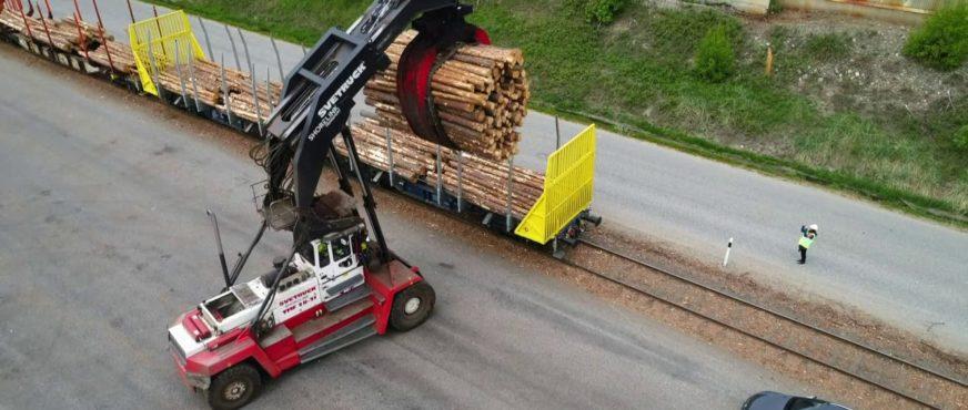 Wie Mercer Holz den Schienengüterverkehr attraktiver gestaltet