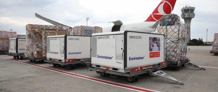 Turkish Cargo nimmt Beförderung von Covid-19-Impfstoff auf