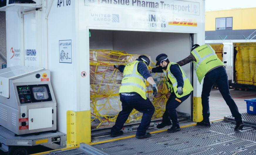 DHL startet internationale Logistik für  Covid-19-Impfstoffe