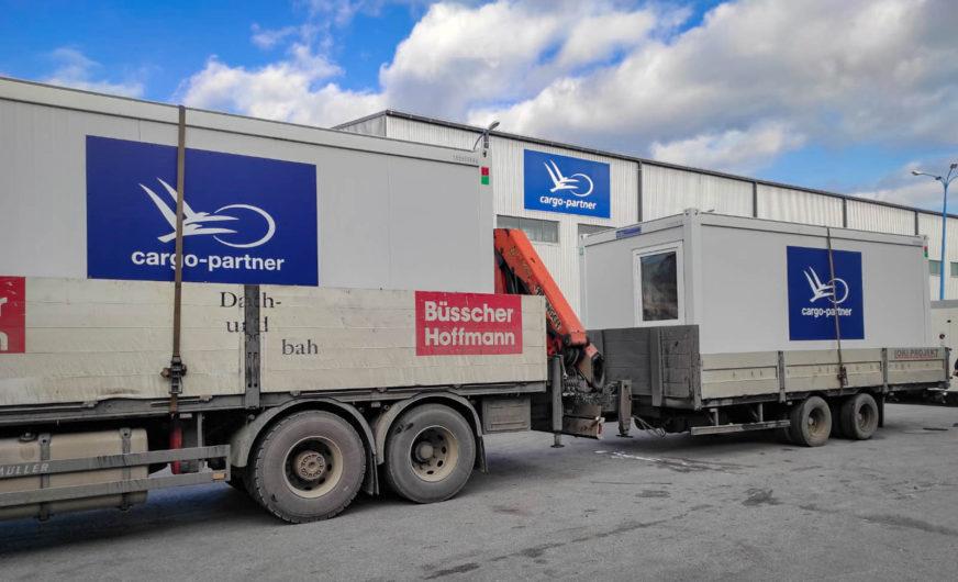 Spontanes Hilfsprogramm des Logistikers cargo-partner